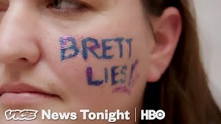 We Followed Women Trying To Confront Jeff Flake About Kavanaugh (HBO)