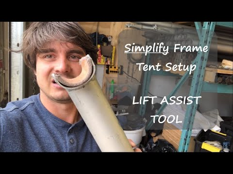 Simplify Your Tent Setup - With This Tent Lift Assist Tool