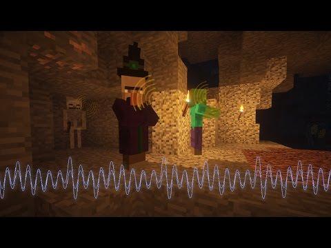 """Amazing """"Sound Shaders"""" in Minecraft 1.11!"""