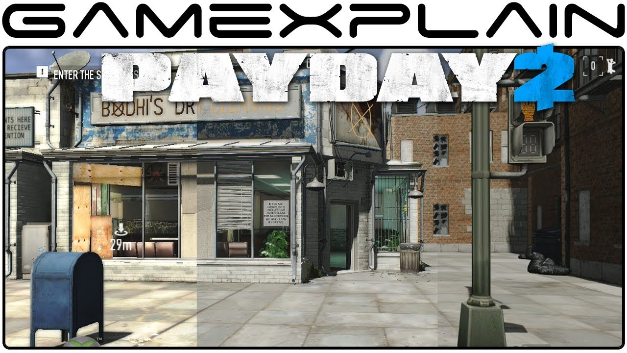 Payday 2 Compared On Switch, PS4 And Xbox 360