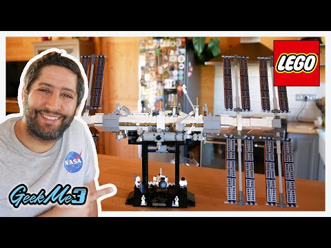 Vidéo LEGO Ideas 21321 : La station spatiale internationale