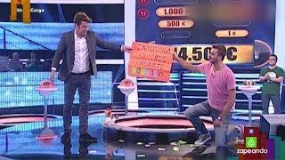 José Enrique, concursante de 'Ahora Caigo', habla de su petición de mano