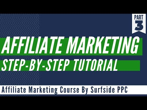 Affiliate Marketing For Beginners Step-By-Step Tutorial - YouTube