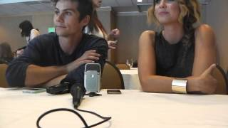 Дилан О'Брайен, Press Room - Teen Wolf - SDCC 2014 - Dylan O'Brien & Shelley Henning