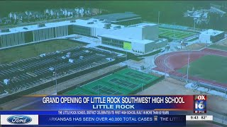 Grand opening for new Little Rock Southwest High School