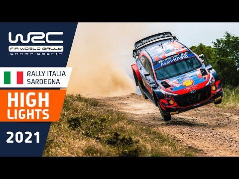WRC 2021 第5戦ラリー・イタリア SS4-8ハイライト動画
