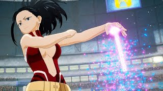 Momo Yaoyorozu  - (My Hero Academia) - My Hero Academia: One's Justice - Momo, Froppy & Kaminari Characters NEW HD SCREENSHOTS! (1080p)