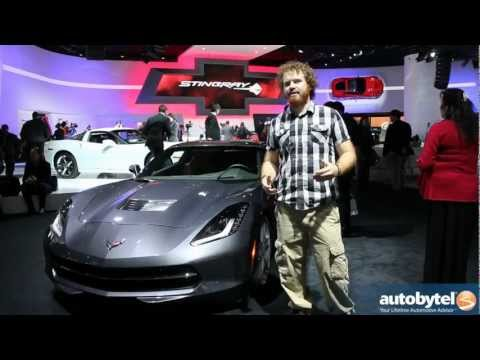 Autobytel Chats With Harlan Charles and the Corvette Stingray at the 2013 Detroit Auto Show