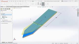 23 SolidWorks – How to Bend a Part using the Sketch Bend Feature – Intro to SolidWorks Sheet Metal