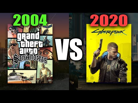 GTA San Andreas vs Cyberpunk 2077