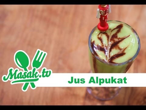 Video Jus Alpukat (indonesian style avocado juice) | Minuman #044