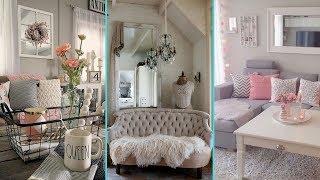 ❤DIY Shabby Chic Style Small Apartment Decor Ideas ❤ | Home Decor & Interior Design| Flamingo Mango
