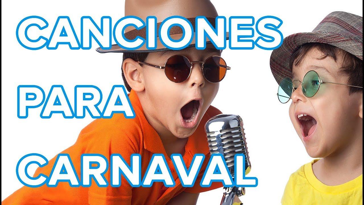 7 canciones infantiles para Carnaval | Canciones de Carnaval para niños