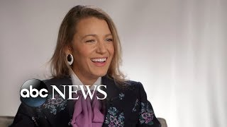 Blake Lively Opens Up About Parenting And Kissing Anna Kendrick In A Simple Favor