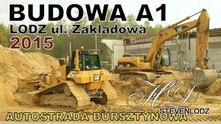 preview picture of video 'Budowa Autostrady - Highway A1 - Łódź ul. Zakładowa - WA 261 (1)'