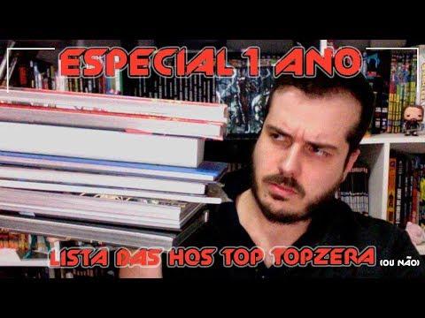 Especial de 1 Ano do Canal - As Hqs Top Topzera (ou não)