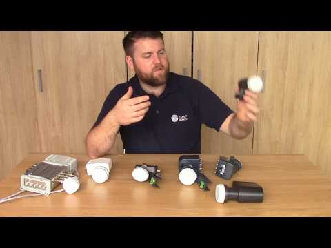 The Difference Between Most Common Satellite LNB's, Quad, Octo, Quattro