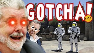 Galaxy's Edge Empty Because of George Lucas? A Star Wars Rumor Worth Pondering