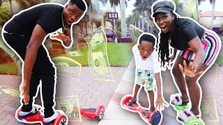 Last To Get Off Hover Board Wins $5000