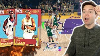 PINK DIAMOND PACK & PLAY! RAY ALLEN TAKES OVER! NBA 2K19