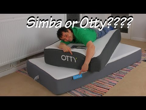 simba mattress vs otty mattress review – full comparison