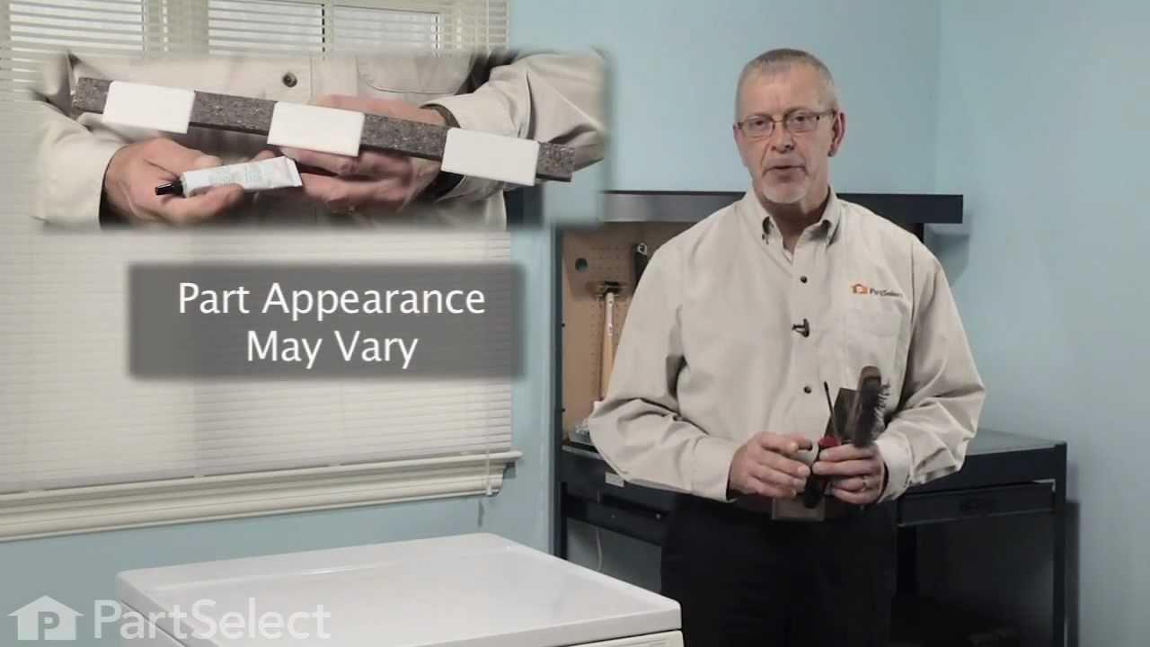 Replacing your Frigidaire Dryer Upper Drum Glide