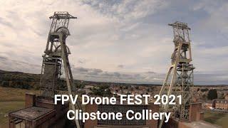 Clipstone Colliery - FPV DroneFest 2021 - Crash and Rescue! ????