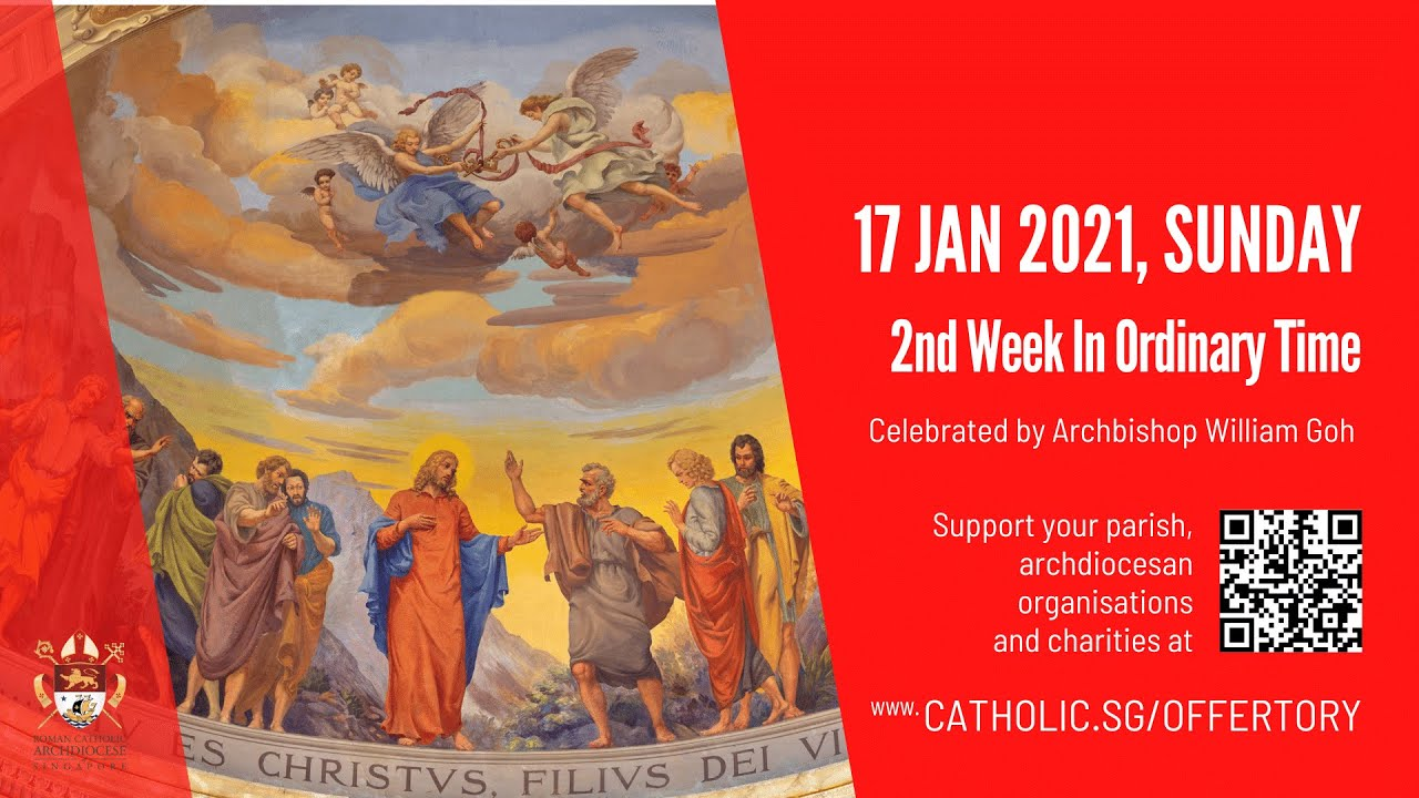 Catholic Sunday Mass Online 17th January 2021 Livestream