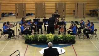 Simons MS String Orchestra - St. Anthony Chorale
