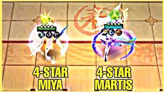 HOW TO GET 4-STAR HERO IN MAGIC CHESS | 2 4-STAR HEROES GAMEPLAY - MLBB