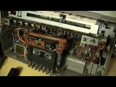 Panasonic RX-5250 boombox inside repaired best I can