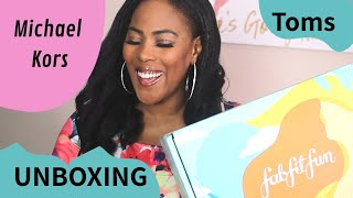 Box of Designer Items for Only  $39 | Michael Kors & More! FabFitFun Summer Unboxing