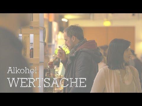 Die Tropfflasche vom Alkoholismus