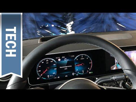 Waschstraßenfunktion im Mercedes GLA ausprobiert: Waschanlagenmodus trifft autom. Vorbereitungen