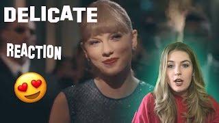 """Delicate"" Reaction Video"