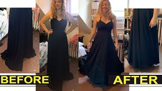 Prom Dress Hem Alteration ~Easy Methods~