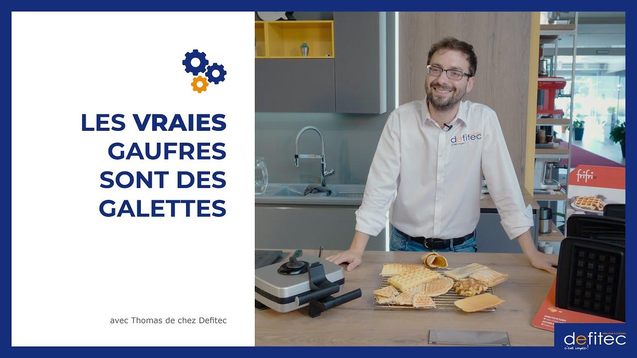 Recettes des véritables gaufres belges avec LE gaufrier Fri Fri