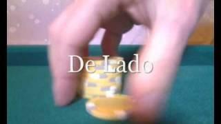 Brincadeira Com Fichas De Poker ( Ficha Que Sobe)
