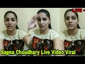 सपना चौधरी ने किया लाईव विडीयो वायरल !! Sapna Choudhary Live Video Shot For Fan's !!Sapna Dance !!