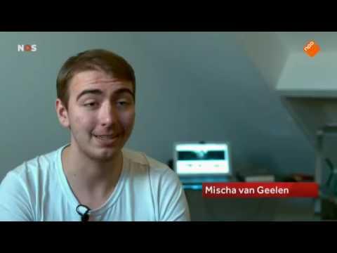 NOS Journaal - Mischa Rick van Geelen