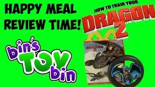 How To Train Your Dragon 2 (2014) Happy Meal Review + Shout Outs! By Bin's Toy Bin