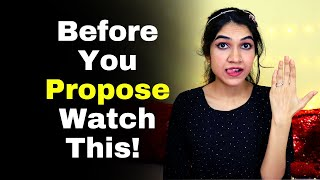 Reaction Of Girl After Proposal | How Girls Feel When They Get A Proposal? @Mayuri Pandey