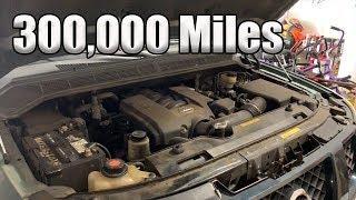 337,000 Mile Nissan Armada Oil Change!!! (MUST SEE)