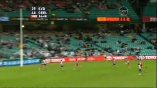 preview picture of video 'Wojcinski Goals, Geelong Cats v Sydney Swans.'