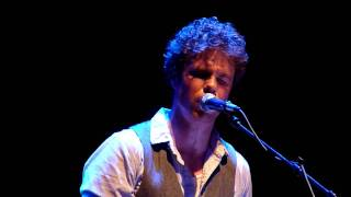 "Josh Ritter ""Rattling Locks"" (Vic Theatre, Chicago)"