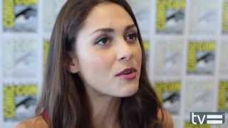 The 100 / The Hundred / Сотня, Lindsey Morgan Interview - The 100 (CW) Season 2
