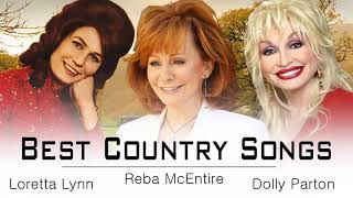 Loretta Lynn,Dolly Parton,Reba McEntire : Greatest Hits ♪ღ♫ Best Old Country Songs