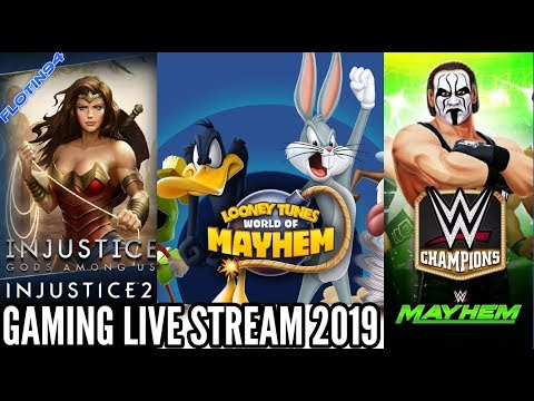Herní Live Stream 2019