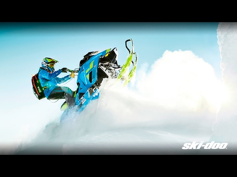 2018 Ski-Doo Summit X 154 850 E-TEC SS, PowderMax Light 3.0 H_ALT in Sierra City, California - Video 1