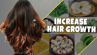 TOP 7 Foods To STOP Hair Loss & INCREASE Hair Growth/Thickness- Strong Hair Tips For Women